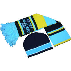 Fan Scarves and caps